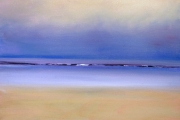 13-096 - Soft Shore Brancaster - Oil on Canvas - 50x40cm - £270