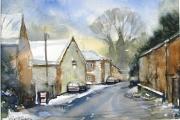 13-116 - Lammas Fayre - Watercolour on W/C Paper - £45.00 - 35x28cm - Mounted