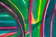 12-022 - Abbey Gardens Tresco - Acrylic on Canvas - £50.00 - 30x40cm