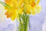 15-018 - The Gift - £68 - Watercolour on W/C Paper - White mount 35x28