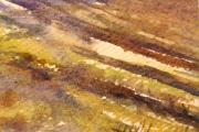 15-035 - Farm Track to Skeyton - £38 - Watercolour on W/C Paper - White mount 25x20cm