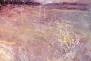160-012 Dusk Holkham - Oil Study £135.00 Oil on Board 25x25cm